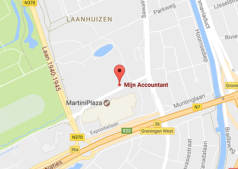 Mijn Accountant op Google Maps
